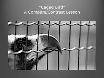 Caged Bird - A Compare Contrast Lesson