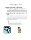 Cages by Peg Kehret student response sheet chapter 1