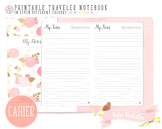 Cahier Dated Notes Traveler Notebook Refill