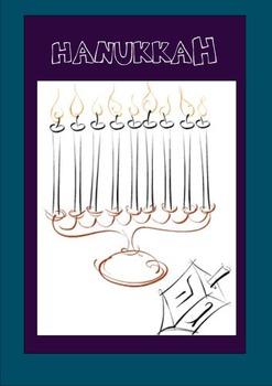 Cahier Hanukkah Francais (French Hanukkah Book)