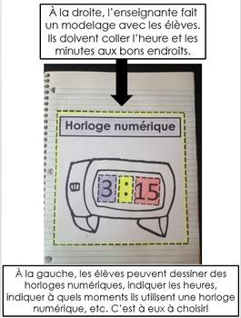 Cahier Interactif de mathématiques - Heure