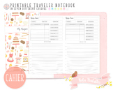 Cahier My Recipe Traveler Notebook Refill