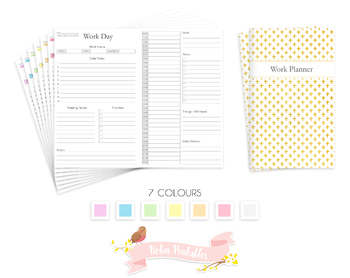 Cahier Work Day Traveler Notebook Refill