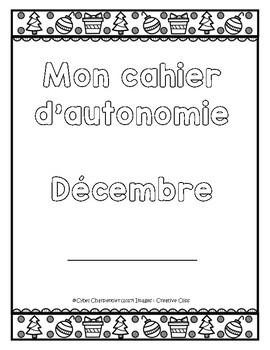 Cahier autonome : décembre