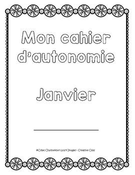 Cahier autonome : janvier