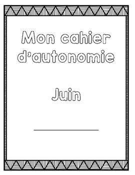 Cahier autonome : juin