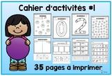 Cahier d'activités #1