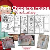 Cahier d´activités - Petit Chaperon rouge - FRENCH Little