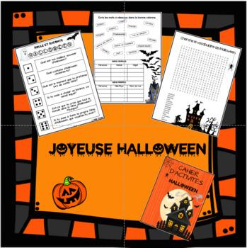 Cahier d'activités d'Halloween