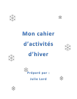 Cahier d'activités d'hiver