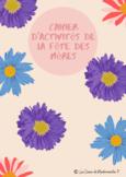Cahier d'activités de la fête des Mères