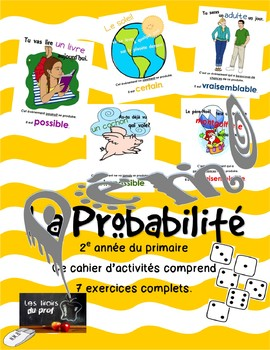 Cahier d'activités mathématiques sur les lois de la Probab