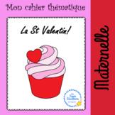 Cahier d'activités thématiques St Valentin - Valentine worksheets