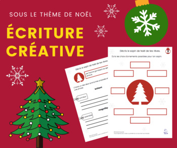 Cahier d'écriture NOËL texte descriptif 2e cycle - Creative writing in French