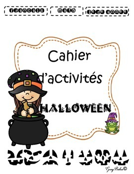 Cahier d'Halloween