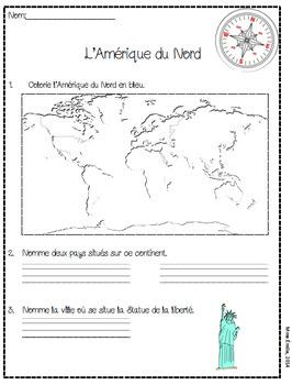 Cahier d'activités Les Continents
