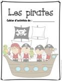 Cahier d'activités Les pirates/ French pirates activities