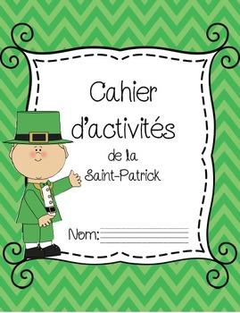 Cahier d'activités de la Saint-Patrick/ French St Patrick's day printables