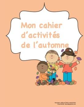 Cahier d'activités de l'automne/ French autumn activities printable