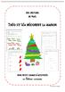 Cahier d'activités Maternelle Noël cursive
