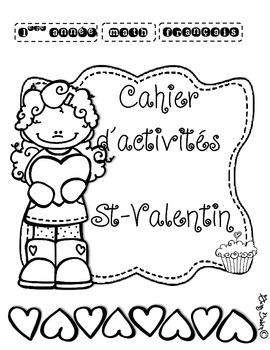Cahier d'activités St-Valentin pour 1ère année