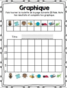 Cahier d'activités les insectes/French Insects activities printable