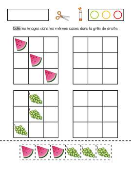 Cahier d'activités sur le thème des fruits