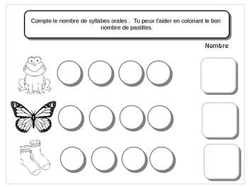 Cahier de cnscience phonologique 3:  Jouer avec les syllabes