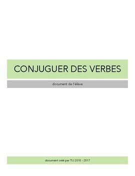 Cahier de conjugaison - Document de travail