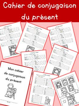 Cahier de conjugaison du présent - 3e année