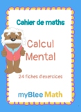 Cahier de maths - Calcul Mental - CP à 6ème