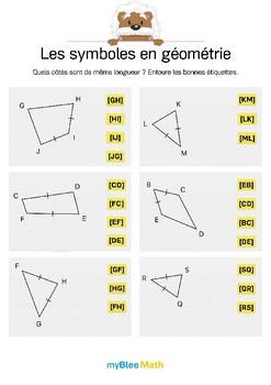 Cahier de maths -Géométrie -Classe de CM1