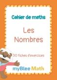 Cahier de maths - Les Nombres - CP à 6ème
