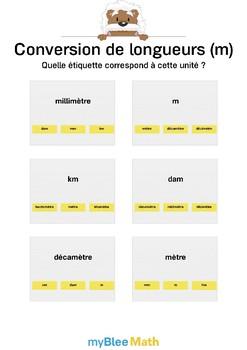 Cahier de maths - Longueur, périmètres, aires - Complet -