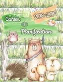 Cahier de planification 2018-2019 - Animaux de la forêt