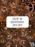 Cahier de planification 2018-2019 - Engrenages