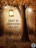 Cahier de planification 2018-2019 - Forêt enchantée
