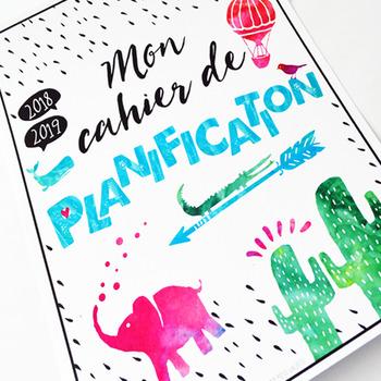 Cahier de planification 2018-2019 / French Teacher Planner