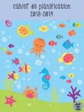 Cahier de planification 2018-2019 - L'océan