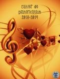 Cahier de planification 2018-2019 - Musique