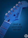 Cahier de planification 2018-2019 - Guitare