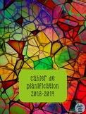 Cahier de planification 2018-2019 - Vitrail