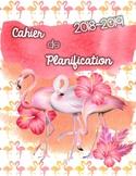 Cahier de planification 2018-2019 - flamants roses