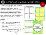"""Cahier de planification 2019-2020 - Modèle """"Orthopédagogue en action"""""""