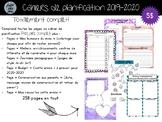 """Cahier de planification 2019-2020 - Modèle """"Totalement complet"""""""