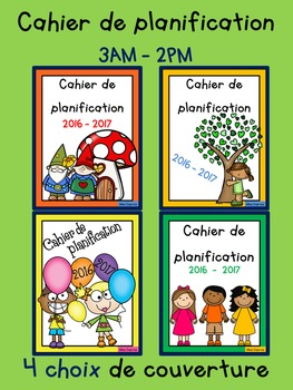 Cahier de planification 3AM/2PM - 2016-2017
