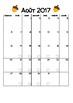 Cahier de planification 2017-2018 (Arbres) [Planbook - FRENCH]