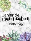 Cahier de planification ''créatif'' 2018-2019