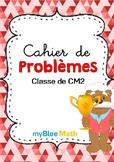 Cahier de problèmes -Classe de CM2