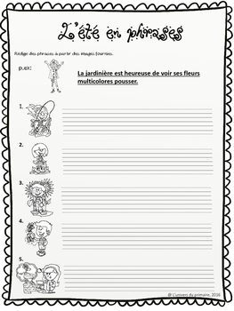 Cahier de survie - activités pour la fin de l'année scolaire